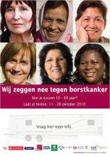 Affiche borstkankerscreening 2060 wijk