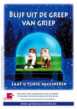 Affiche griepvaccinatiecampagne