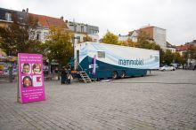 De mammobiel op het Sint Jansplein
