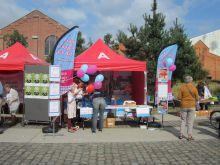 Stand op evenement Antwerpen Sport