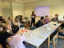 Overleg met gezondheisdienst van stad Antwerpen