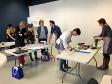 Training kookworkshop voor onze diëtistenpool
