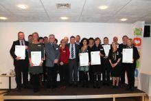 Ondertekening van het charter Gezonde Gemeente